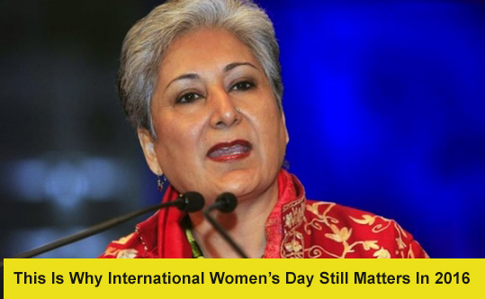 Why International Women's Day Matters in 2016